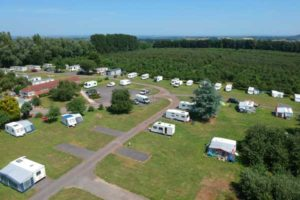 Campsite in Somerset prices