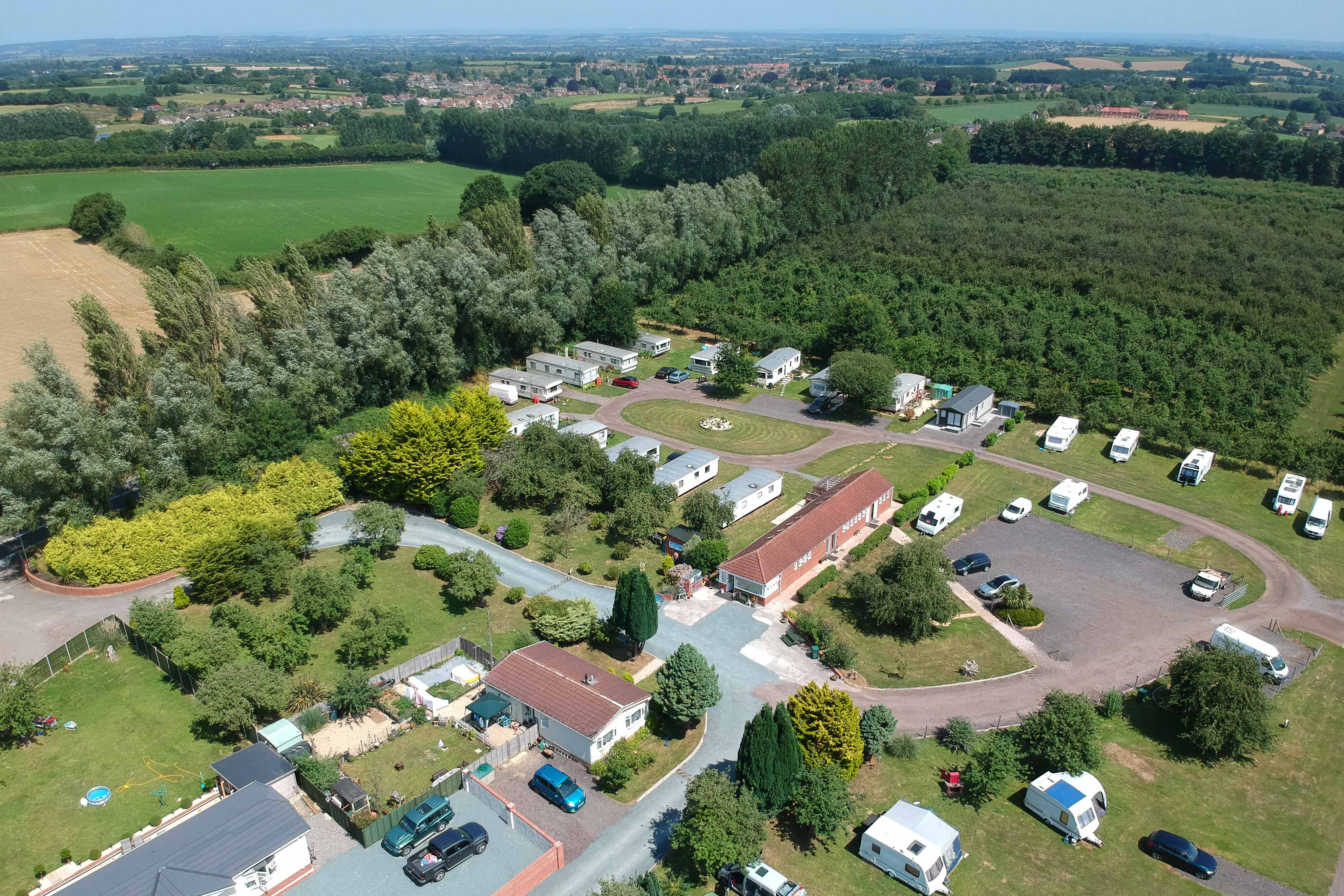 West Down Orchard Touring & Camping Park, South Petherton, Somerset